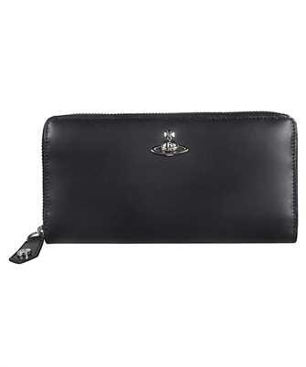 Vivienne Westwood 51050022 40242-LA ALEX ZIP ROUND Wallet