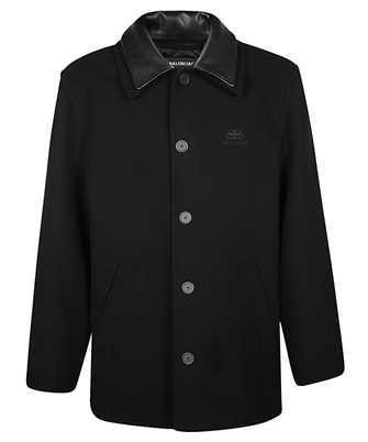Balenciaga 626314 TIU07 DOUBLE COLLAR Jacket