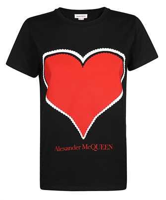 Alexander McQueen 642485 QZACA HEART LOVE T-Shirt