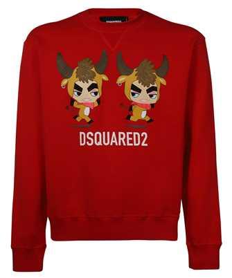 Dsquared2 S74GU0507 S25042 YEAR OF THE OX Kapuzen-Sweatshirt