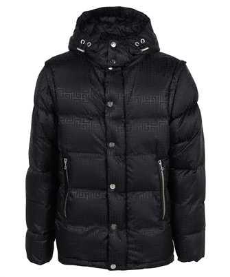 Balmain WH1TP035X167 DETACHABLE SLEEVES MONOGRAM DOWN Jacket