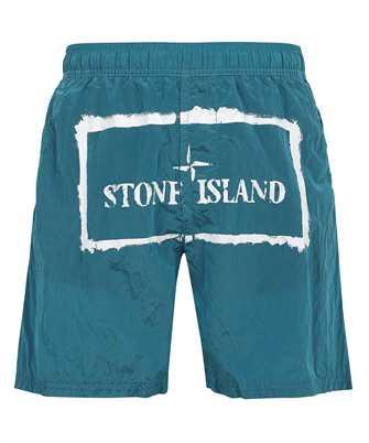 Stone Island B0992 NYLON METAL STENCIL PRINT Bermuda