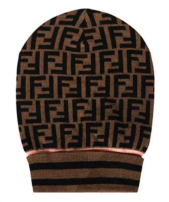 Fendi FXQ637 A3OV ALL-OVER FF MOTIF Beanie