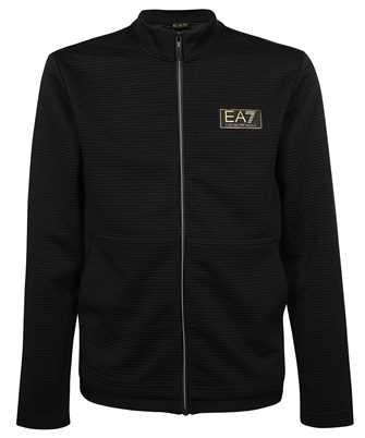 EA7 3KPM91 PJ5TZ ZIPPED COTTON Sweatshirt