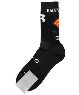 Balenciaga 663386 472B4 GAMER TENNIS Socks