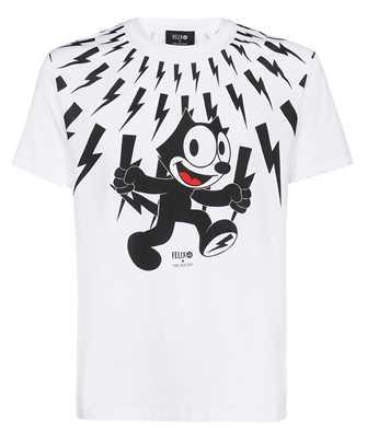 Neil Barrett BJT014D R529S FELIX THE CAT SERIES T-shirt