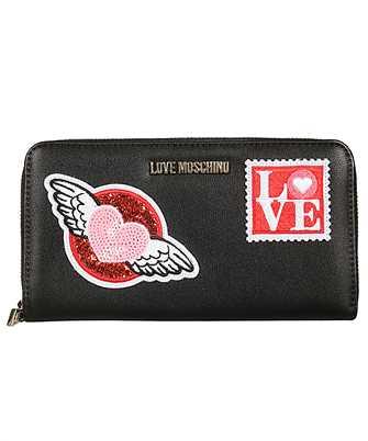 LOVE MOSCHINO JC5618PP18 LR0 BLACK Wallet