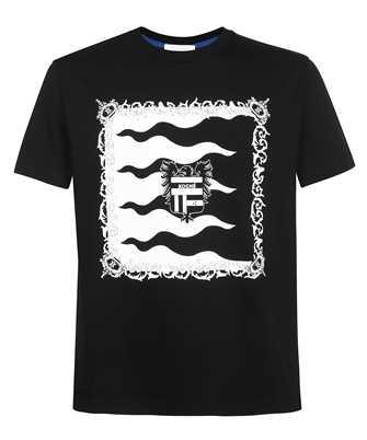 Kochè SK1GC0023 S24251 HERALDIC FLAGS PRINT T-shirt
