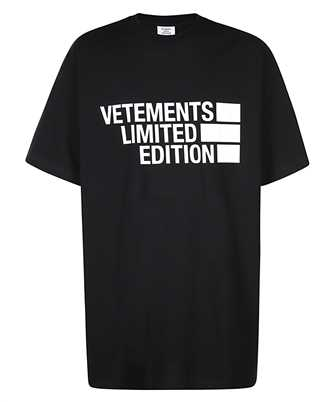 Vetements UE51TR810B BIG LOGO LIMITED EDITION T-shirt