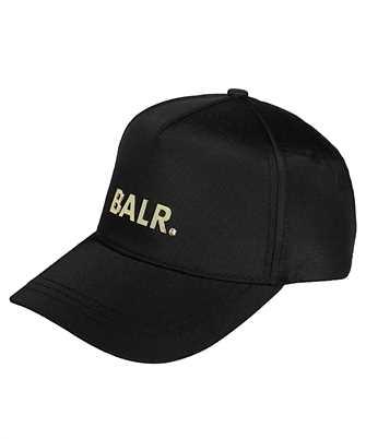 Balr. Gold metal plate cap Cap