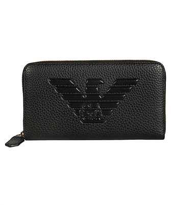 Emporio Armani Y3H181 YGF8B EAGLE LOGO Wallet