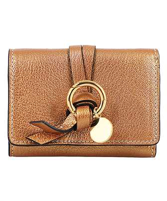 Chloé CHC20UP719C80 ALPHABET MINI TRI-FOLD Wallet