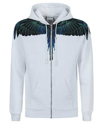 Marcelo Burlon CMBE001R21FLE001 WINGS REGULAR ZIP Hoodie