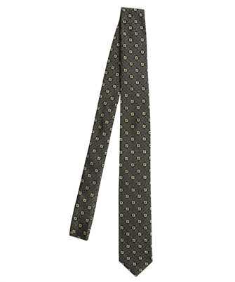 Fendi FXC023 AFY2 JACQUARD FF Cravatta