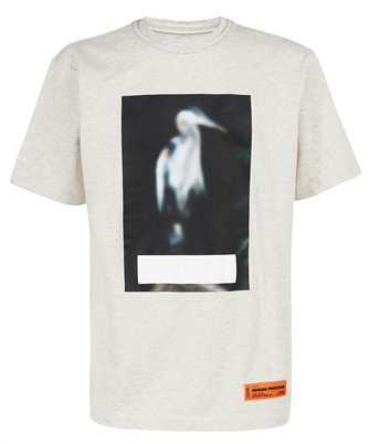 Heron Preston HMAA026F21JER004 CENSORED OVERSIZE T-shirt