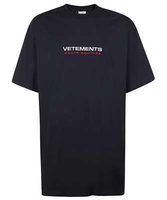 Vetements UE51TR470N LOGO HAUTE COUTURE T-shirt