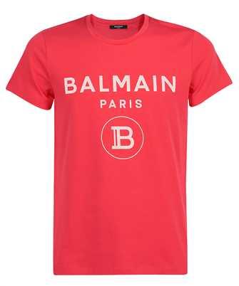 Balmain VH0EF000B080 CRACKED T-shirt