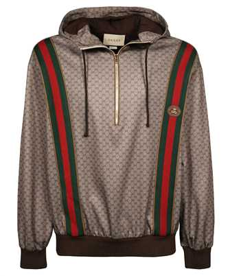 Gucci 655153 XJDFB HOODED SWEAT TECHNICAL JERSEY Hoodie