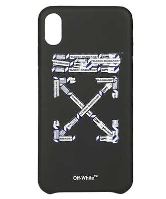Off-White OMPA011S20294003 AIRPORT TAPE iPhone XS MAX cover