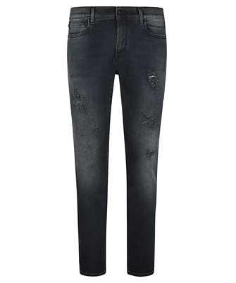 Off-White OMYA074R21DEN003 DIAG POCKET SKINNY Jeans