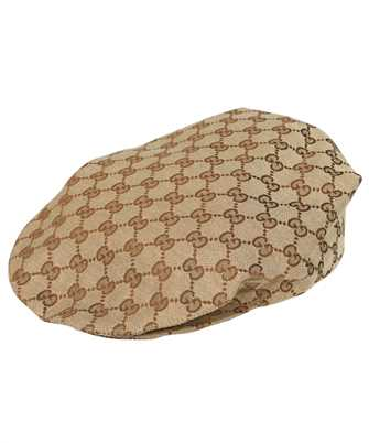Gucci 660253 4HAGN GG COTTON DRILL FLAP Hat