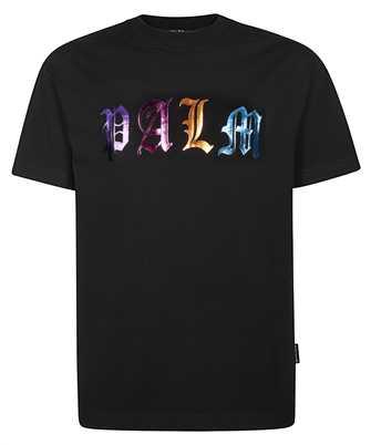 Palm Angels PMAA001E20JER007 GOTHIC LOGO T-shirt