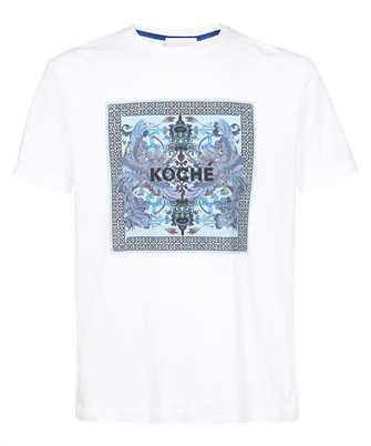 Kochè SK1GC0018 S24251 PHOENIX FOULARD PRINT T-shirt