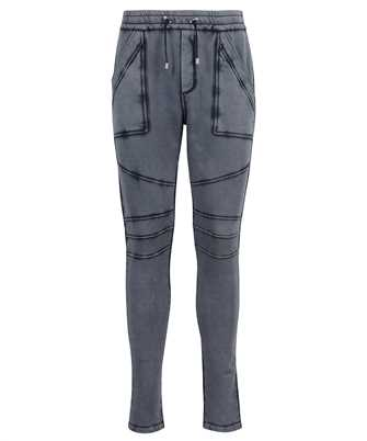 Balmain VH0OB027B004 LOW CROTCH WASHED Trousers
