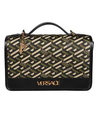 Versace 1001908 1A02129 LA GRECA SIGNATURE SHOULDER Bag