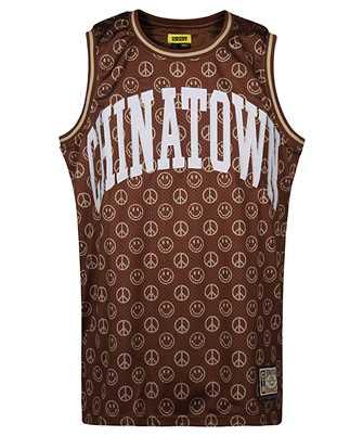 Chinatown Market 1690008 SMILEY CABANA BASKETBALL T-shirt