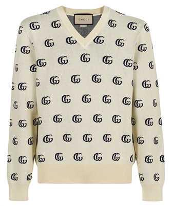 Gucci 655104 XKBVB GG COTTON JACQUARD Knit