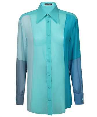 Dolce & Gabbana F5O52T GDZ60 GEORGETTE PATCHWORK Shirt
