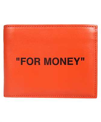 Off-White OMNC008F19F56035 QUOTE BIFOLD Wallet