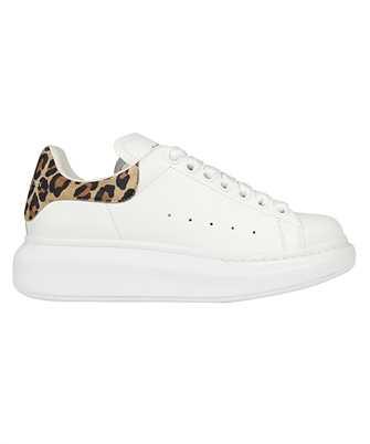 Alexander McQueen 650787 WHZ4T LEOPARD SUEDE OVERSIZED Sneakers