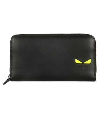 Fendi 7M0267 A7TE ZIP AROUND Wallet