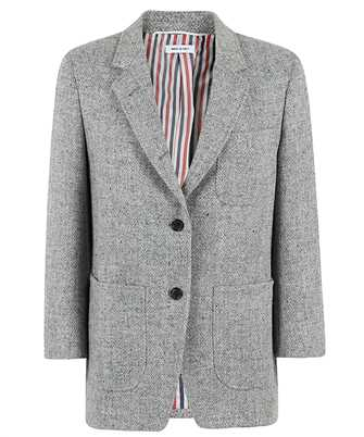 Thom Browne FBC334V 02508 HERRINGBONE HARRIS TWEED Jacke