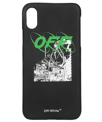 Off-White OMPA007F19294013 RUINED FACTORY iPhone X cover
