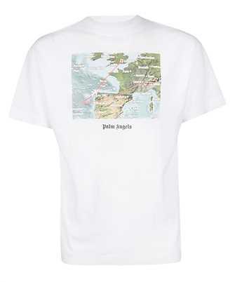 Palm Angels PMAA001F19413043 LOST FLIGHT T-shirt