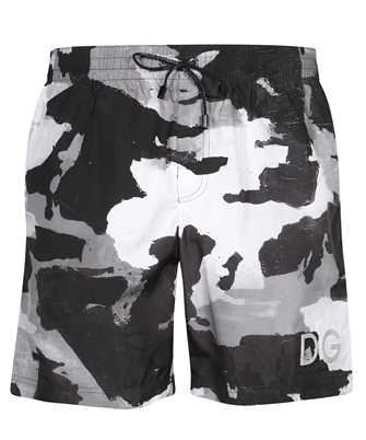 Dolce & Gabbana M4B16T HSMND CAMOUFLAGE PRINT Costume da bagno