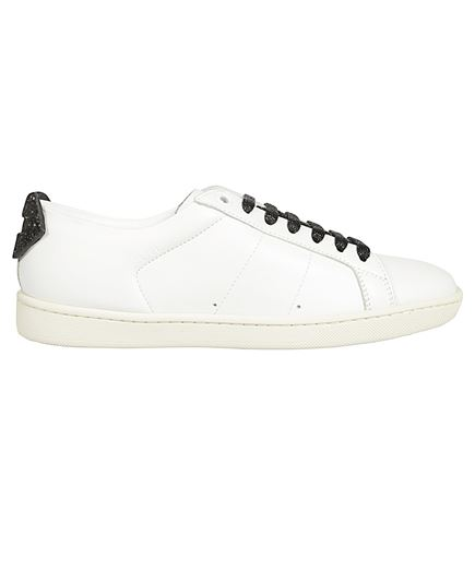 Saint Laurent 538893 0M5J0 GLITTER LIPS Sneakers