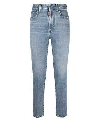 Dsquared2 S75LB0470 S30595 HIGH WAIST CROPPED TWIGGY Jeans