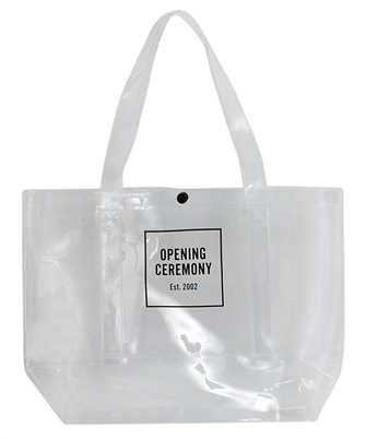 Opening Ceremony YMNA001F20PLA001 BOX LOGO MEDIUM Borsa