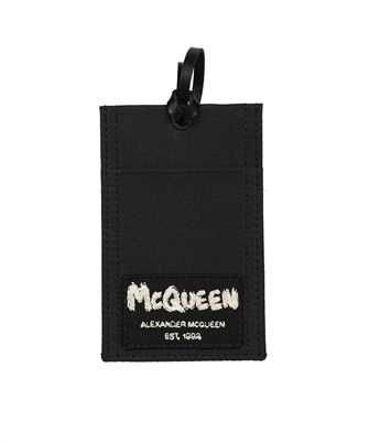 Alexander McQueen 663103 1AAB1 W/STRAP Card holder