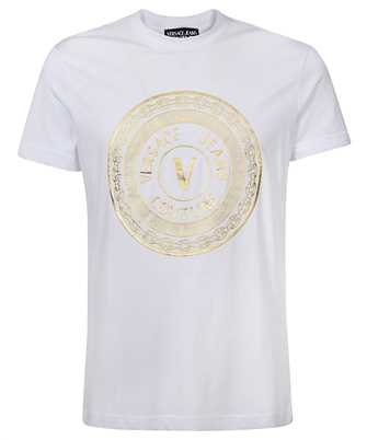 Versace Jeans Couture B3GWA7TE 30319 V-EMBLEM EMBROIDERED T-shirt