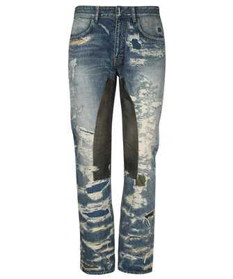 Givenchy BM50VH5Y1B VINTAGE DISTRESS MOLESKIN Jeans