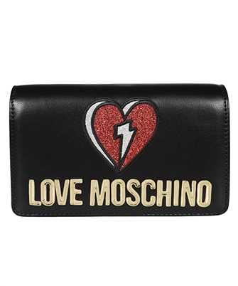 LOVE MOSCHINO JC4268PP0BKJ GLITTER HEART EVENING Bag