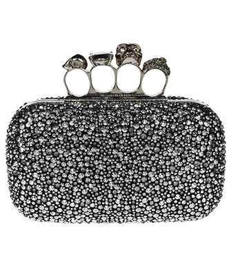 Alexander McQueen 583729 14C7Y SKULL FOUR RING Bag