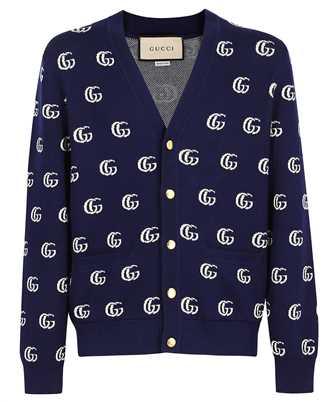 Gucci 660285 XKBVB GG COTTON JACQUARD Cardigan