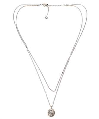 Alexander McQueen 669956 I404Y DOUBLE LAYER CHAIN Necklace
