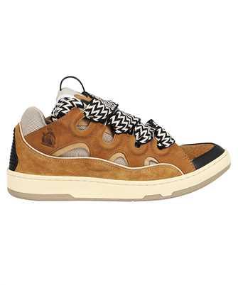 Lanvin FM SKRK11 DRAG A21 LEATHER CURB Sneakers